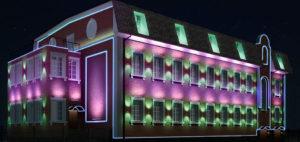 светодизайн зданий
