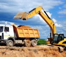 Закладка фундамента и земляные работы