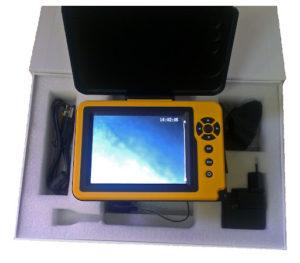 камера для подводной съемки рыбалки с экранчиком