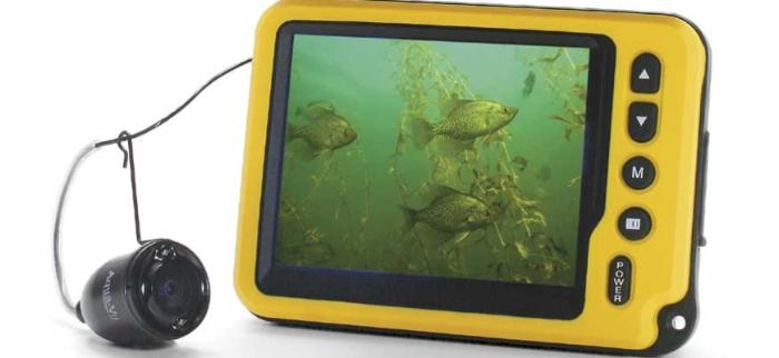 удочка с камерой для рыбалки
